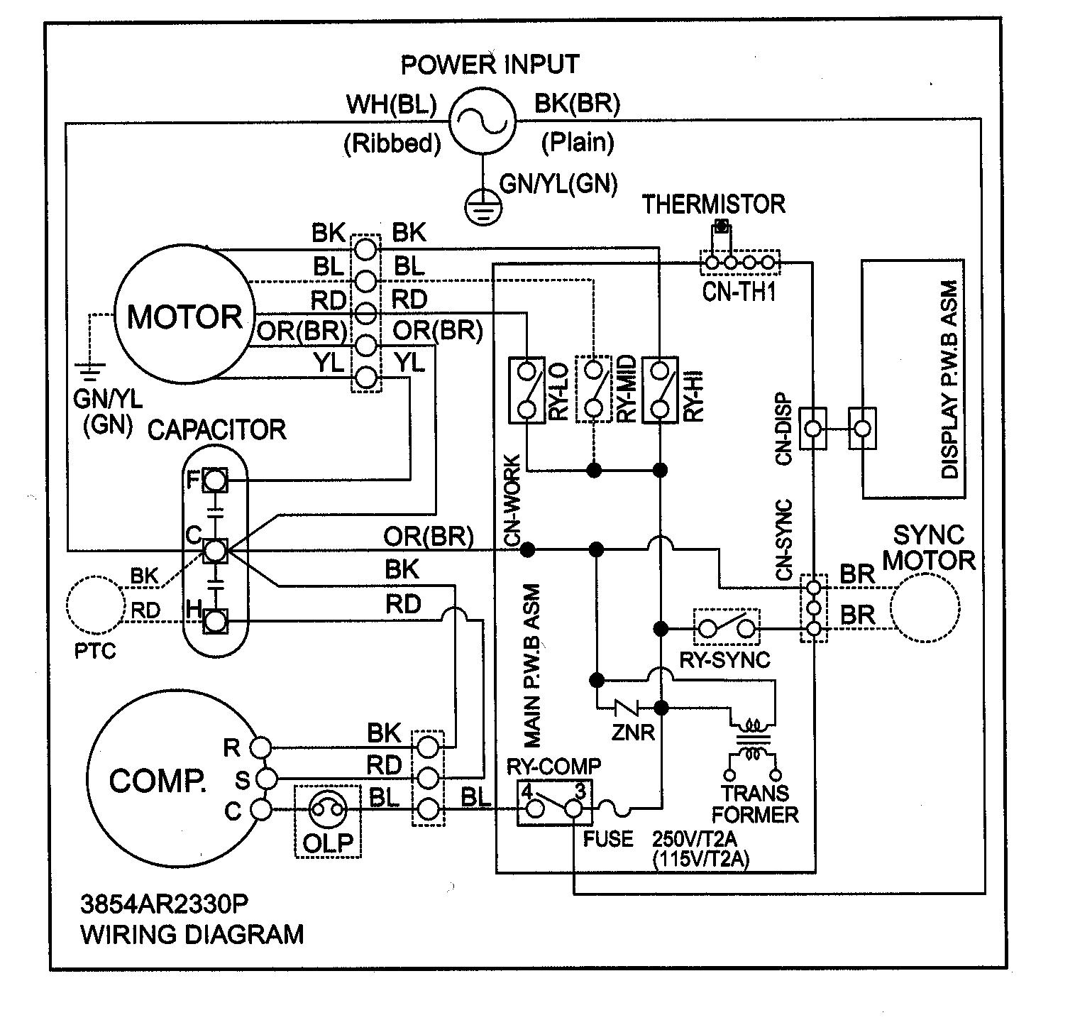 Unique Wiring Diagram Of Lg Window Ac #diagram | Wiring Diagram Air Conditioner